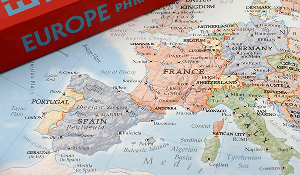Travel to Europe About Europe – Travel Map Of Europe